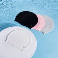 柒號  中性款纯色硅胶泳帽