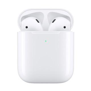 Apple 苹果 新AirPods(二代)无线蓝牙耳机 无线充电盒版