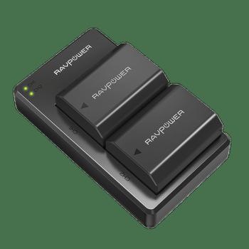 Ravpower 睿能宝 索尼相机NP-FZ100 ILCE-9 A7M3 A9 7RM3 A7R3微单电池 黑色