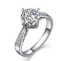 一搏千金(YBQJ)BG001 18K金共110分IJ色 钻石女戒 求婚戒指 钻戒