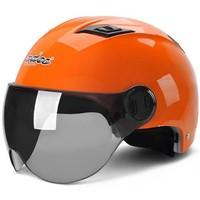 Andes HELMET 電動摩托車頭盔 橙色