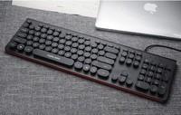 英菲克 朋克键盘 黑色版 104键