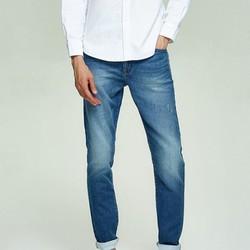 网易严选 男士coolmax针织修身牛仔裤