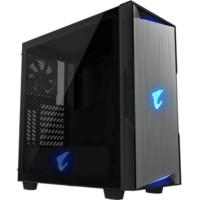 GIGABYTE 技嘉 AORUS AC300G 侧透RGB支持水冷机箱 黑色