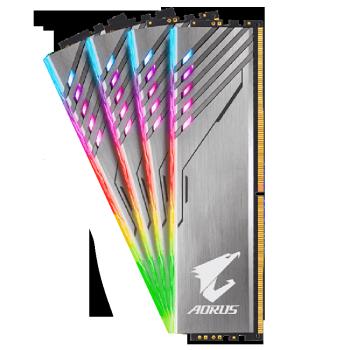 GIGABYTE 技嘉 AORUS 内存海力士颗粒 DDR4 3200 16G 8GBx2