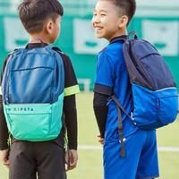 迪卡侬双肩包运动背包男女健身包书包儿童学生户外旅行包KIPSTA