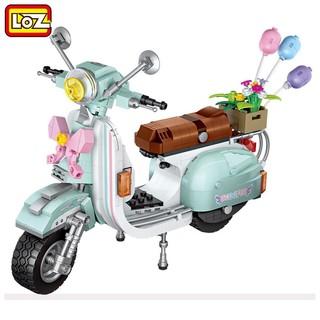 LOZ 小颗粒积木 小绵羊摩托车