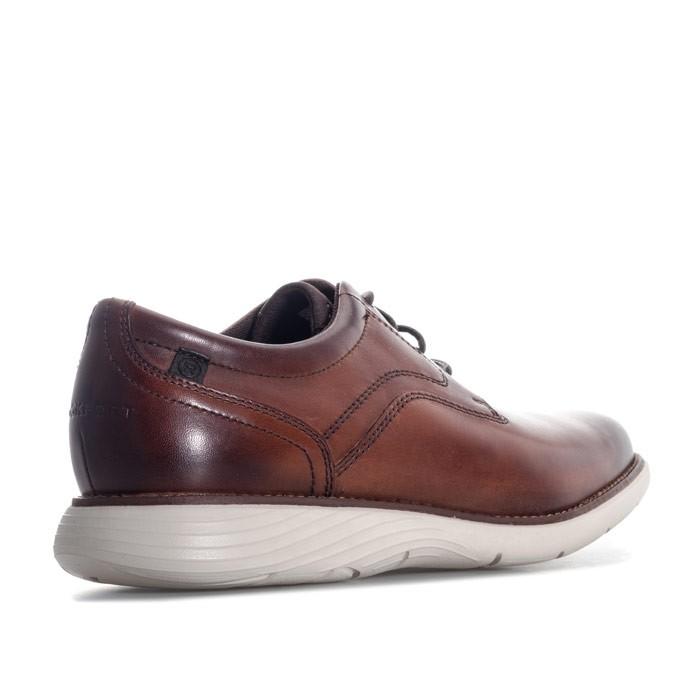ROCKPORT Mens Garett Plain Toe Shoe 男士休闲鞋