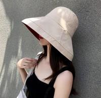 BAAI 八艾 MZ-8261 女士双面渔夫帽