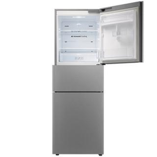 SAMSUNG 三星 BCD-265WMTISE1 智能变频三门冰箱 (银色、280升、2级)