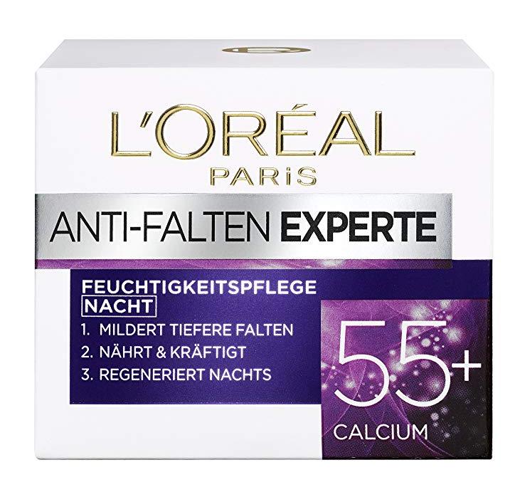 L'OREAL PARIS 巴黎欧莱雅 抗皱专家 保湿护肤晚霜 50ml*3盒