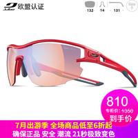 Julbo Aero J483 户外自动变色眼镜 (3413-斑马轻红镜片)