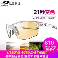 Julbo Aero J483 户外自动变色眼镜 (3111 白/灰-斑马)