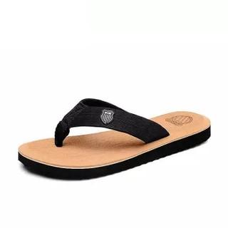 Nan ji ren 南极人 男士时尚简约夹脚户外沙滩人字拖鞋 043WPS1515 棕色 40