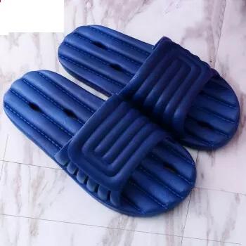 Nan ji ren 南极人 凉拖鞋男士室内浴室防滑居家洗澡 蓝色 44-45(适合42-43码)
