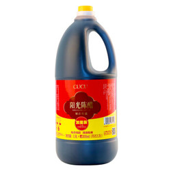 CUCU 山西阳光陈醋酿造食醋1.9L+赠300ml *5件