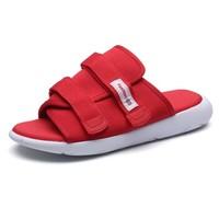 GOLDPOOL 高尔普 男士潮流透气户外休闲百搭沙滩凉拖鞋 19158GEP919 红色 39