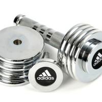 adidas 阿迪达斯 ADWT-10026 哑铃 5公斤可调
