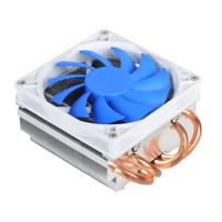 SILVER STONE 银欣 AR06 薄型CPU散热器 风冷 5.8公分 变速风扇 静音