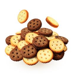 maizhao 唛兆 麦芽饼干 咸蛋黄/黑糖可选 100g *4件