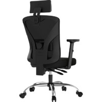 Hbada 黑白调 HDNY143 家用电脑椅 黑色