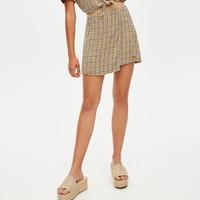 PULL&BEAR 05691314 格纹半身裙