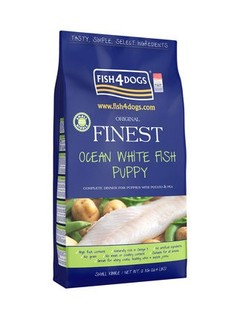 Fish4Dogs 海洋之星 无谷天然成犬粮 12kg 小颗粒