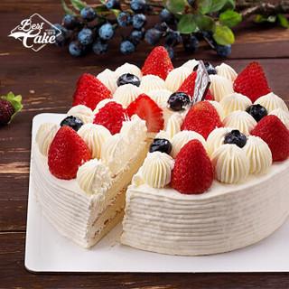 Best Cake 贝思客 双莓落雪蛋糕 450g