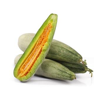 美香农场 山东羊角蜜甜瓜 5斤 单果约240-500g/个