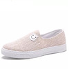 GOLDPOOL 高尔普 时尚简约轻便舒适帆布休闲鞋 18108GEP1802 米色 39