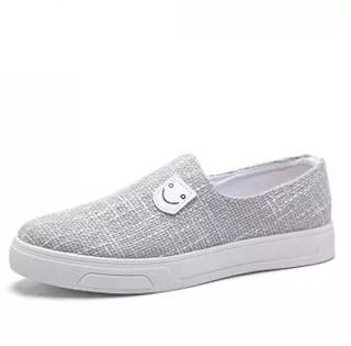 GOLDPOOL 高尔普 时尚简约轻便舒适帆布休闲鞋 18108GEP1802 灰色 41