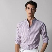 Massimo Dutti  EASY IRON  00126026400 男士修身条纹衬衫