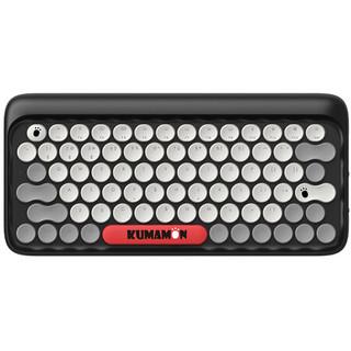 LOFREE 洛斐熊本熊 DOT圆点蓝牙机械键盘 无线复古键盘 iPad苹果笔记本键盘 KUMAMON 熊本熊键盘套装