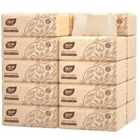 植护 本色抽纸 家庭装 4层*60抽*10包