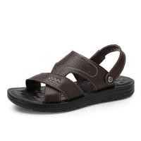 京东PLUS会员:CAMEL 骆驼 W822263572 男士拖鞋