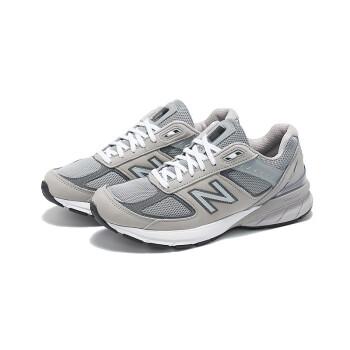 new balance 2019新款990v5系列男鞋跑步鞋M990IG5 灰色 42