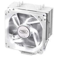 DEEPCOOL 九州风神 玄冰系列 玄冰400 台式机散热器  雪豹限量白色版 (白色、风冷散热器)