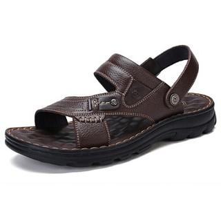 CAMEL 骆驼 W822287612 男士休闲拖鞋