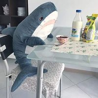 致暖 Warmest 鲨鱼毛绒公仔 1米 *2件