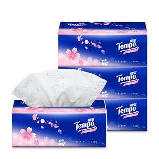 凑单品 : Tempo 得宝 樱花香味抽纸 4层*90抽*4包 *2件 +凑单品