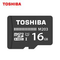 TOSHIBA 东芝 M203 MicroSDXC UHS-I U1 TF存储卡 16GB