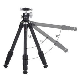 MARSACE 马小路 MT-5L 大三脚架摄影套装版送延长杆 (碳纤维、3节)