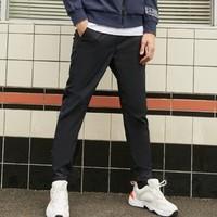 YESSING 男式基礎塑形梭織長褲