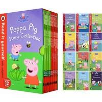 20日18点:《Peppa Pig:Read It Yourself With Ladybird Level 1-2 小猪佩奇分级读物》英文原版 全12册