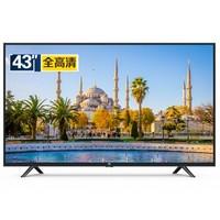 小米(MI)小米电视4C 43英寸 L43M5-AX 1GB+8GB 全高清 人工智能网络液晶平板电视