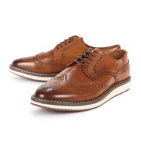 JACK JONES 杰克琼斯 2183C8532 男士雕花皮鞋