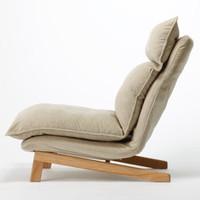 MUJI 无印良品  B7A2107 高靠背斜倚沙发椅
