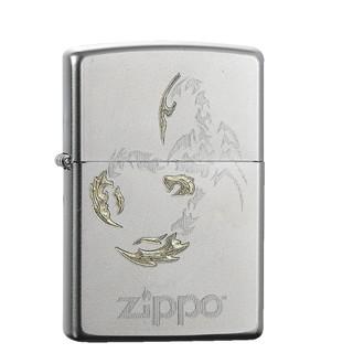 zippo 之宝 ZP-205 缎纱镀铬 防风打火机 +凑单品