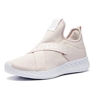 ANTA 安踏 92918850 女鞋运动鞋2019新款绑带潮流街拍ins休闲鞋女跑步鞋 藕灰/安踏白 8.5(女40)