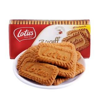Lotus和情 缤咖时焦糖饼干350g *6件